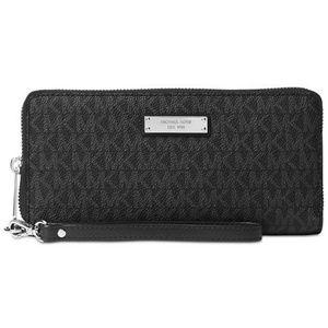 MK signature travel wallet